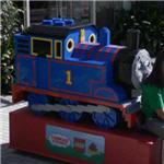 Lego Thomas the Tank Engine (StreetView)