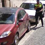 Illegal parking (StreetView)