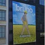 Brüno billboard (StreetView)