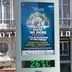 26 Degrees C and Faith No More poster (StreetView)