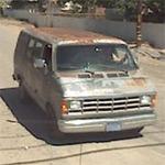 Phillip Garrido driving his van (StreetView)