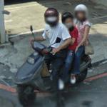Three on a motorcycle (StreetView)