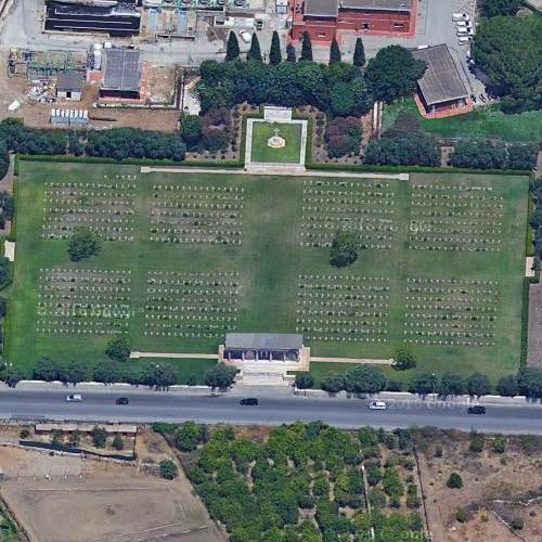 Siracuse War Cemetery (Google Maps)