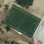 Artificial turf soccer field (Google Maps)