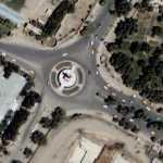 Massoud square - Attack on Italian force (Google Maps)