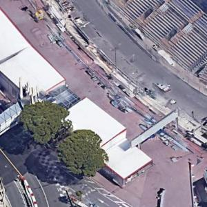 Monaco F1 Grand Prix Pit Lane (Google Maps)
