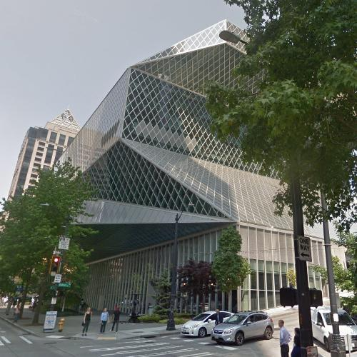 'Seattle Central Library' by Rem Koolhaas (StreetView)