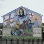Oliver Cromwell mural (StreetView)