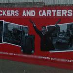 'Belfast Dockers and Carters Strike 1907' mural (StreetView)