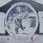 'Can it Change? - We believe!' mural