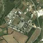 Italian Army barrack Cassino (Google Maps)