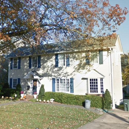 Bob Bauer & Anita Dunn's House In Chevy Chase, MD (Google