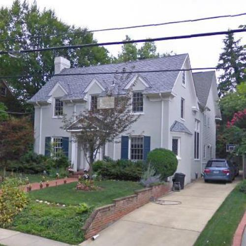 Ron Klain's House in Chevy Chase, MD (Google Maps)