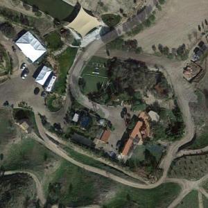 Cesar Millan's Dog Compund (Google Maps)
