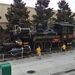 Locomotive of Back to the Future III (StreetView)