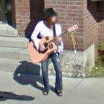 Guitar player (StreetView)