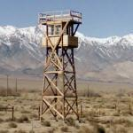Guard tower at the Manzanar National Historic site (StreetView)
