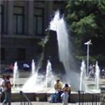 'B.C. Centennial Fountain' by R. H. Savery and Alex Svonboda (StreetView)