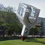 """Device to Root Out Evil"" by Dennis Oppenheim (StreetView)"