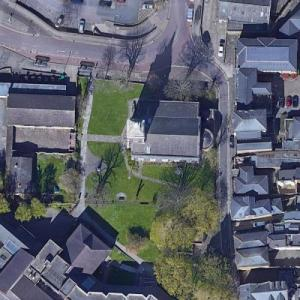 Burial place of Pocahontas, St. George's Church (Google Maps)