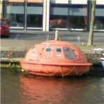 Capsulehotel - Hotel built from oil rig survival pods (StreetView)