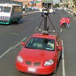 Google car (StreetView)