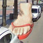 Big Sandal (StreetView)