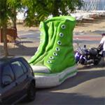 Big shoe (StreetView)