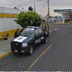 Police truck (StreetView)