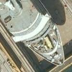 MS Queen Victoria (QV) (Google Maps)