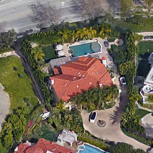 Kaley Cuoco's house (Google Maps)