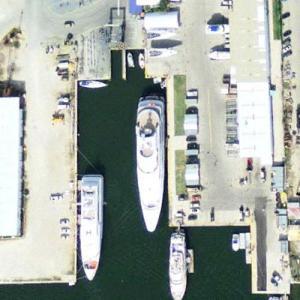 Yacht Reverie (Google Maps)