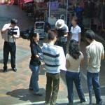 Film crew (StreetView)
