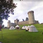 Medieval encampment at Warwick Castle