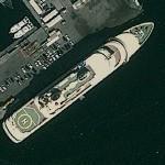 Superyacht Al Said (Google Maps)