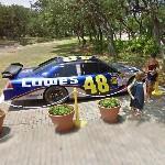 NASCAR 2008 Sprint Cup Champion Jimmie Johnson's Car (StreetView)