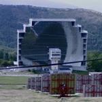 Solar furnace (StreetView)
