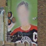 Bill Mosienko mural (StreetView)