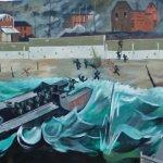 Juno Beach D-Day mural (StreetView)