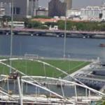 Floating Soccer Field (StreetView)