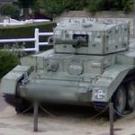 British Centaur tank