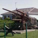 German anti-aircraft and anti-tank artillery (88 mm gun) (StreetView)
