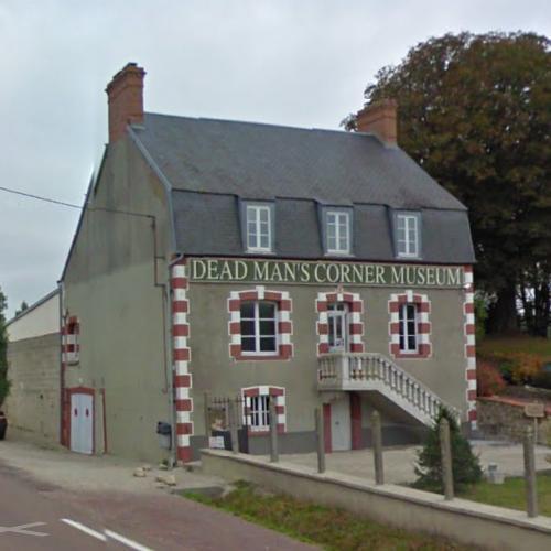 Dead Man's Corner Museum in St Côme du Mont, France (Google Maps) on