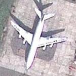 Ilyushin Il-96-400T (Google Maps)