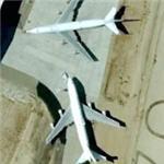Both NASA shuttle carrier aircraft (Google Maps)