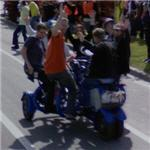 Seven person conference bike (StreetView)