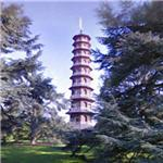 Pagoda at Kew Gardens (StreetView)