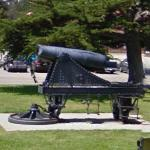 19th century cannon (StreetView)