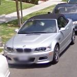 BMW M3 Cabriolet (StreetView)