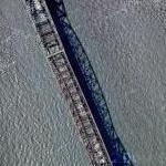 Longest Cantilever Bridge - Pont de Quebec (Google Maps)